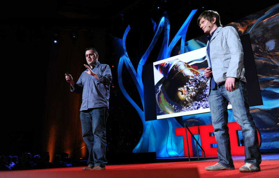 homaru-canto-and-ben-roche-at-ted2011